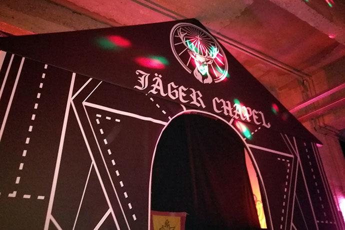 Branded Pop-Up Chapel Bars