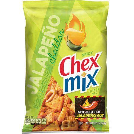 Jalapeño-Spiced Cereal Mixes