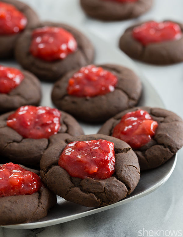 Boozy Jam Cookies