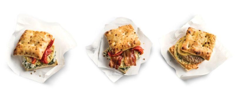 Bistro-Inspired Breakfast Sandwiches