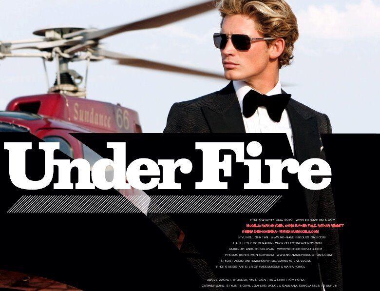 Bond-Inspired Fashion Shoots