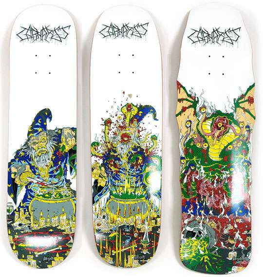 Graphic Serpent Decks