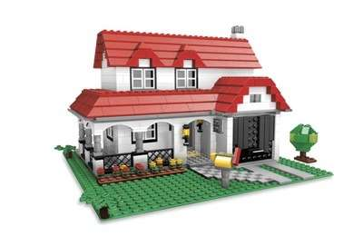 Full-Sized LEGO Houses