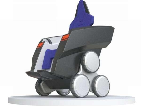 Tri-Wheel Wheelchairs