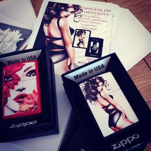 Provocative Pin-Up Lighters