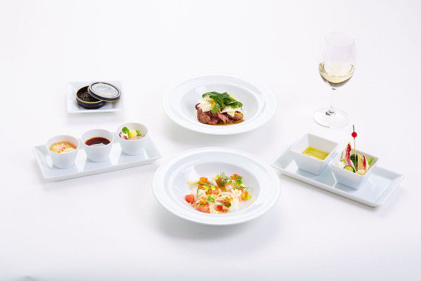 Fine Parisian Airline Meals