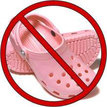 Hazardous Crocs
