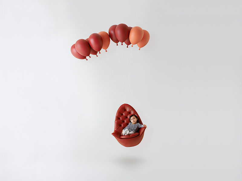 Whimsical Balloon Seating