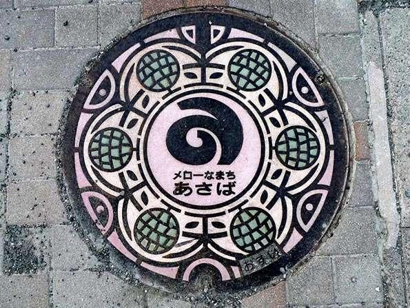 Japanese Manhole Murals (UPDATE)