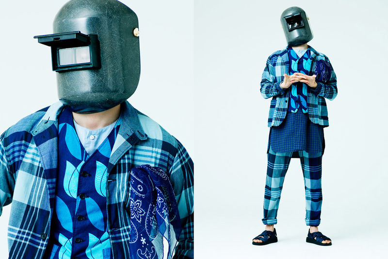 Welder-Masked Menswear Editorials
