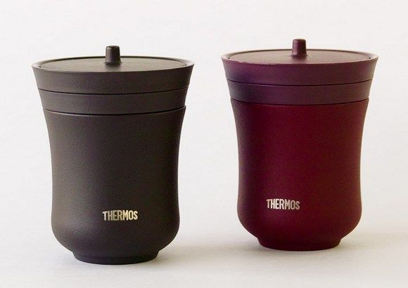 Asian-Inspired Insulated Teacups