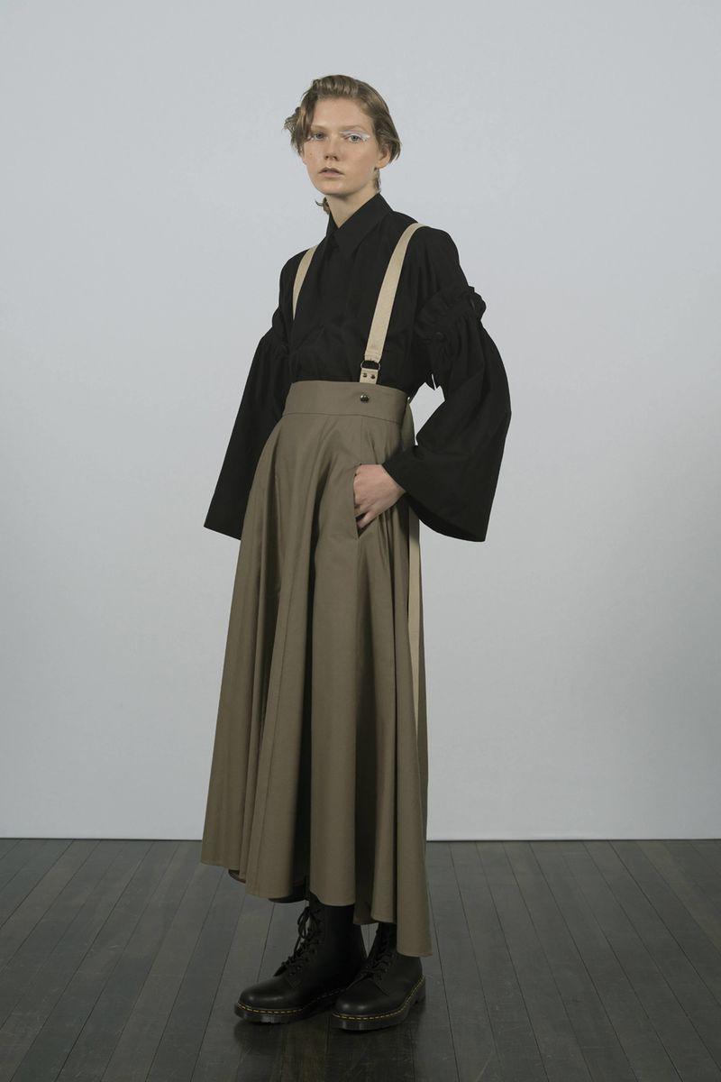 Elegant Japanese-Inspired Fashion Silhouettes