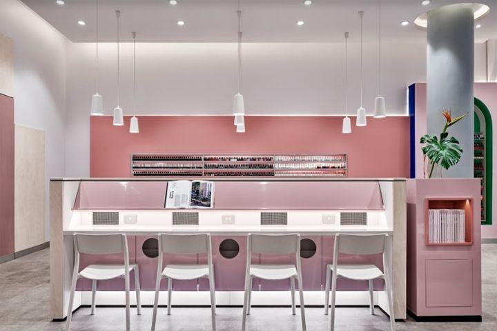 Millennial Pink Nail Salons