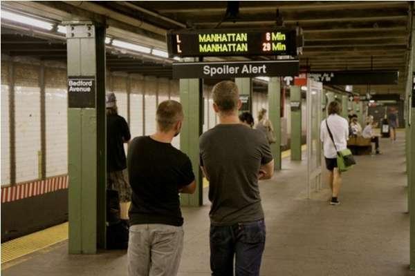 Spoiler Alert Subway Signs