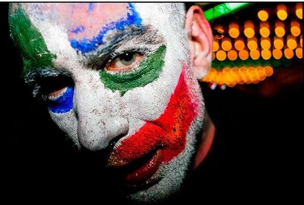 Fanboy Clown Art