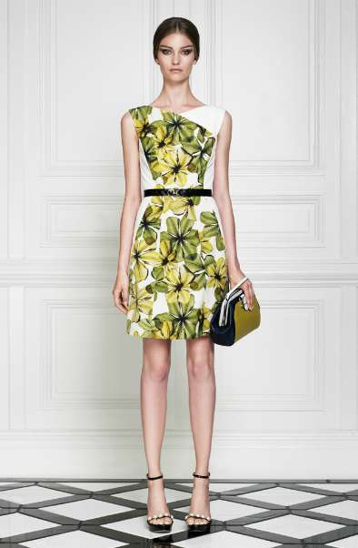 Bold Botanical Dresses