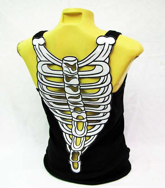 Backless Bone-Baring Attire