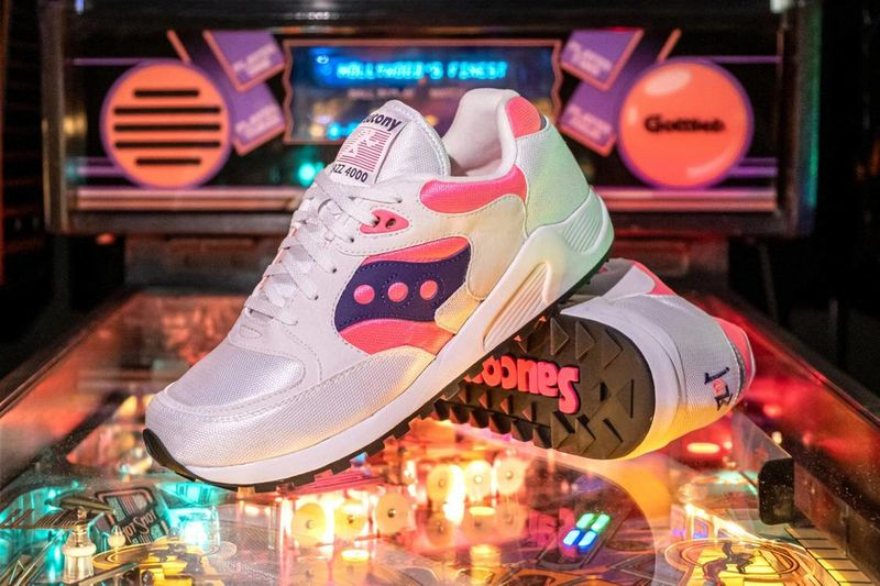 Colourfully Accented Retro Runners