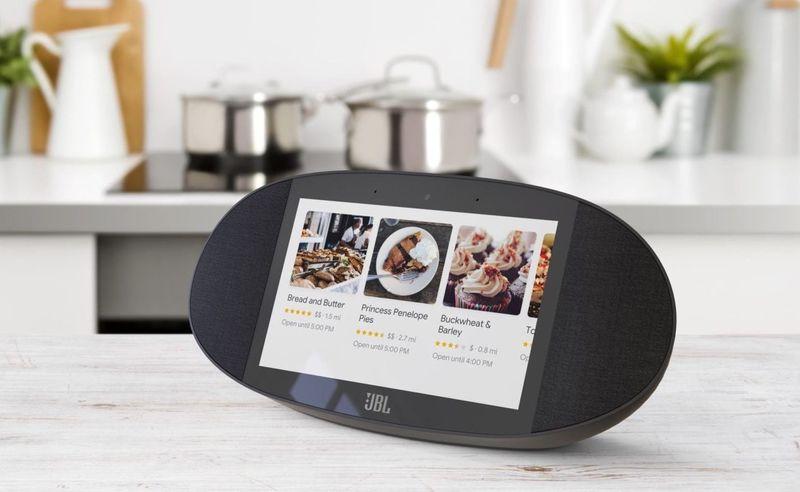 Recipe-Displaying Speakers