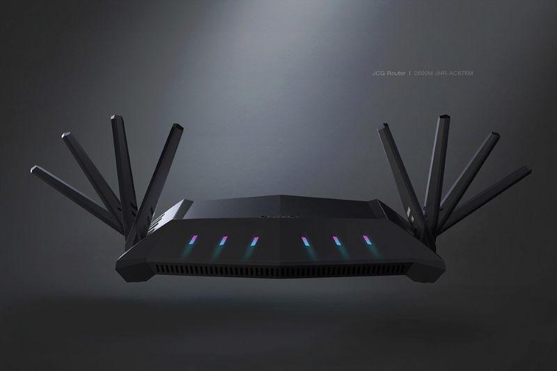 Octa-Antenna Routers