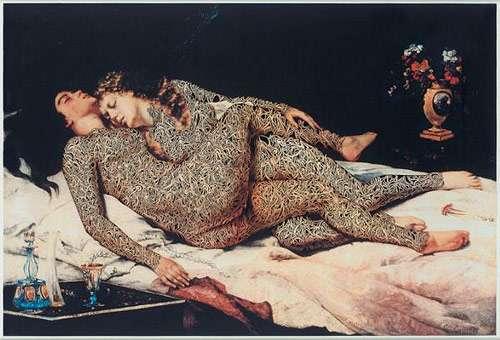 Tattooed Renaissance Paintings