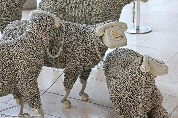 Spellbinding Sheep Sculptures