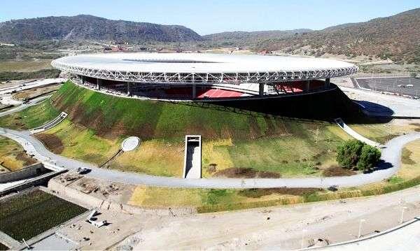 Volcano-Shaped Stadiums