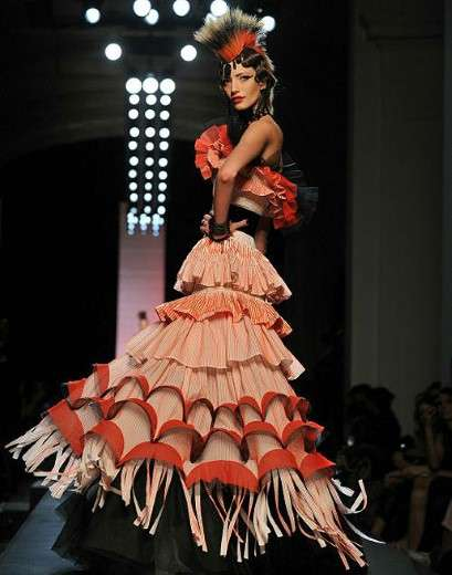 Frilled Punk Couture