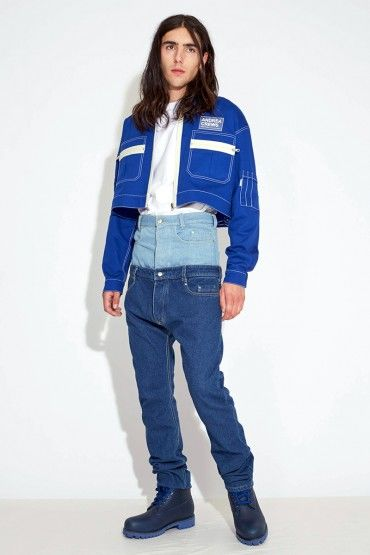 Double-Waisted Denim