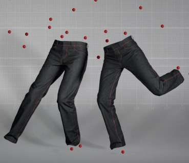 Jeans Made With Glue