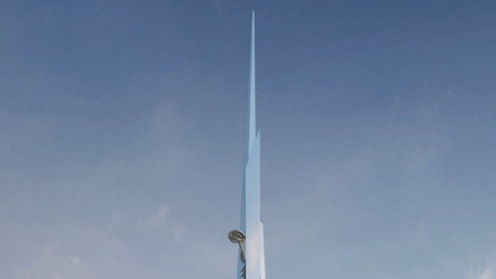 Kilometer-Tall Buildings