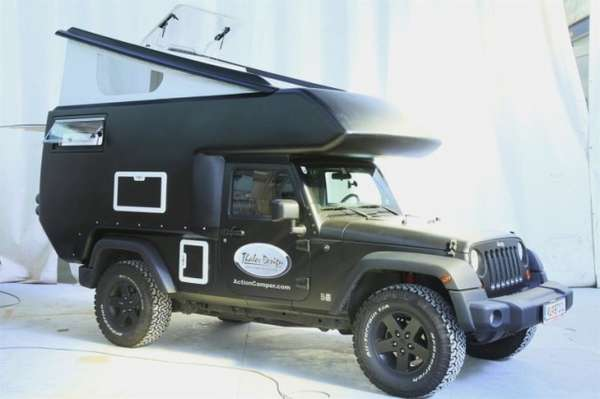 Habitable Off Road Vehicles Jeep Action Camper