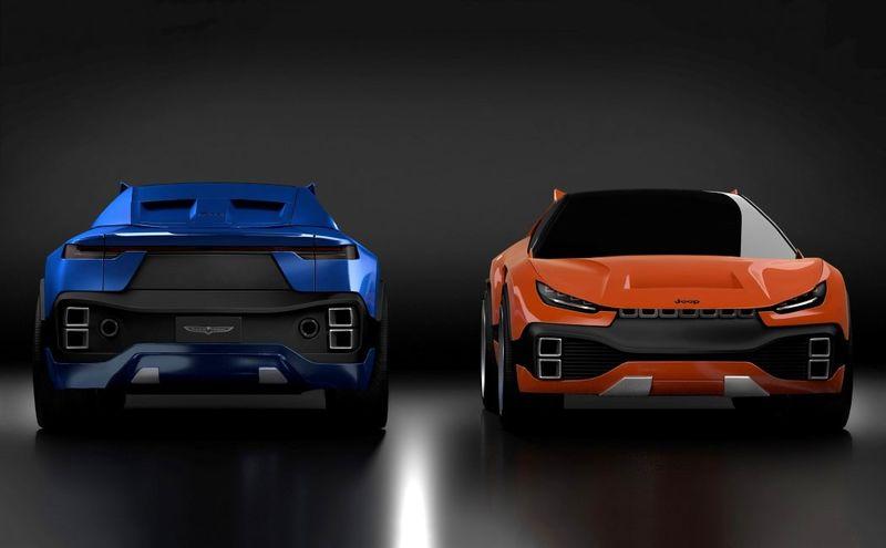 Aggressive Sports Car SUVs