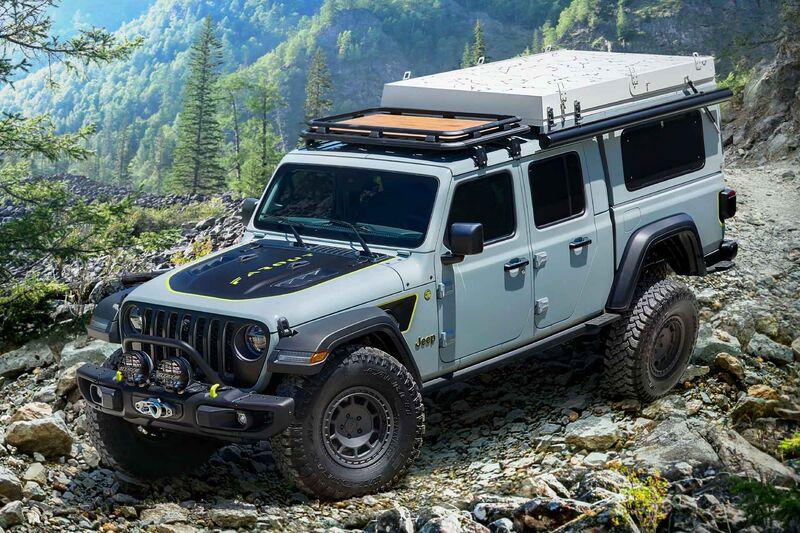Off-Road Exploration Camper Vehicles