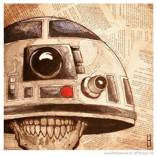Hellish Sci-Fi Helmets