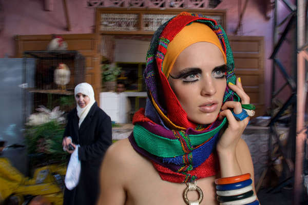Haute Hijab-Clad Editorials