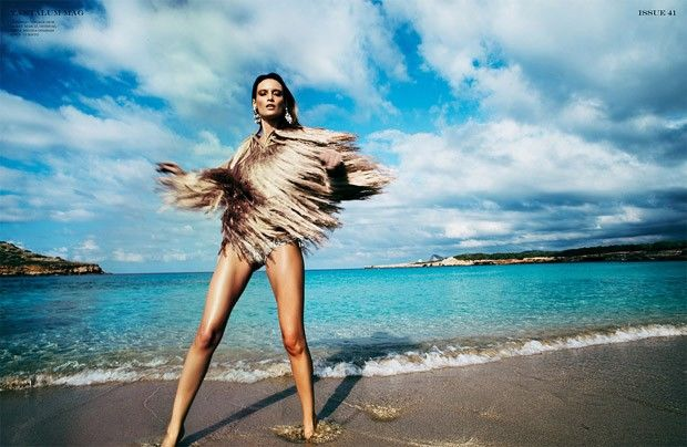 Sultry Seaside Editorials