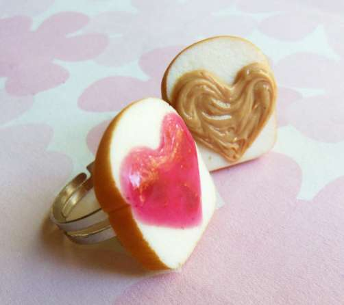 Heart-Shaped Sandwich Jewels