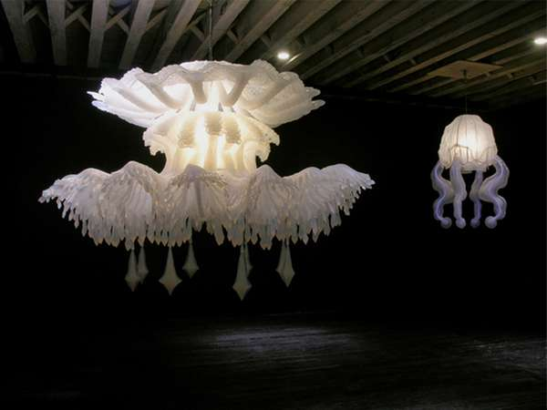 Jellyfish chandeliers 2 timothy horn lighting jellyfish chandeliers 2 mozeypictures Choice Image