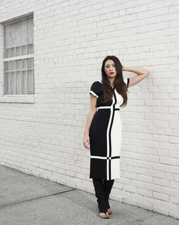 Monochromatic Downtown Editorials