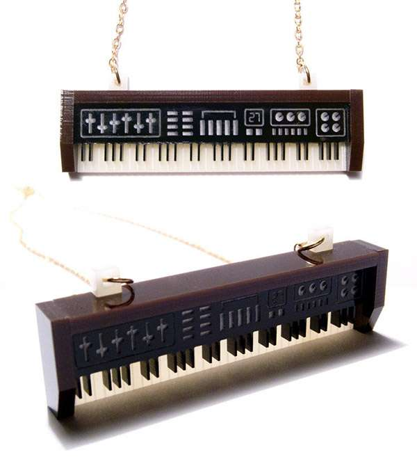 Instrument-Inspired Necklaces