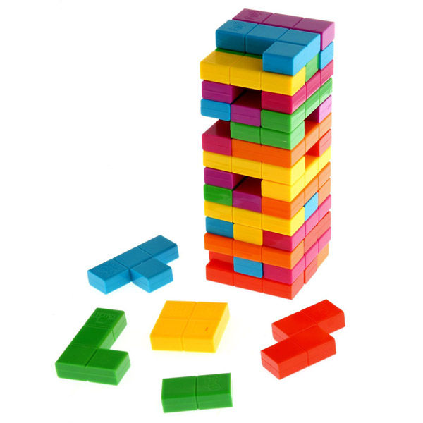 Hybrid Stacking Puzzle Games