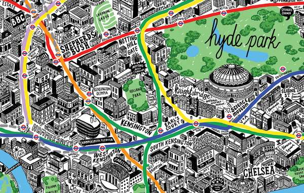 Meticulous Hand-Drawn Maps