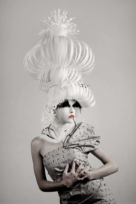Eccentric Papercraft Headwear