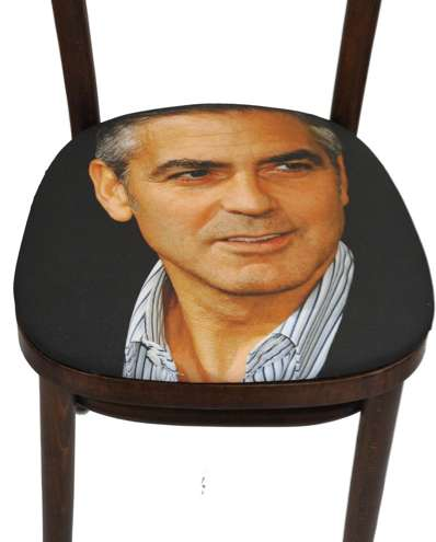 Celebrity-Faced Chairs