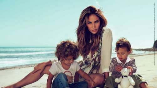 Celeb Family Fashion Ads