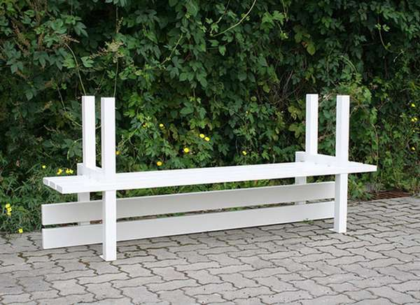 Bottom-Side-Up Benches