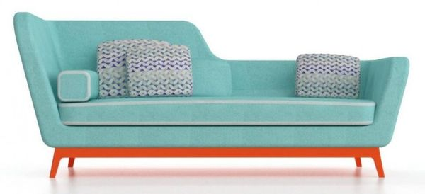 Art Deco-Inspired Couches