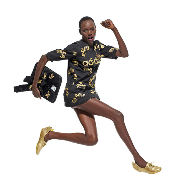 40aaaa809a3 Wild Culture-Infused Fashions   Jeremy Scott for adidas Originals ...