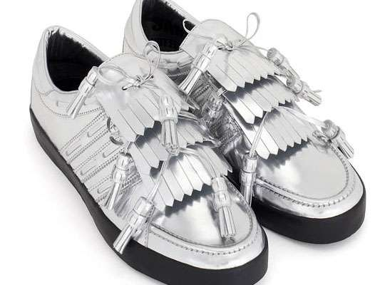 Silver Golf Kicks